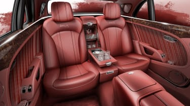 Bentley Mulsanne special - back seats