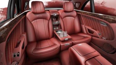 Bentley Mulsanne special - back seats