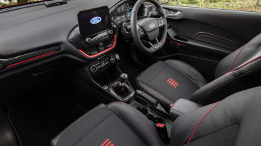 New Ford Fiesta ST-Line - cabin