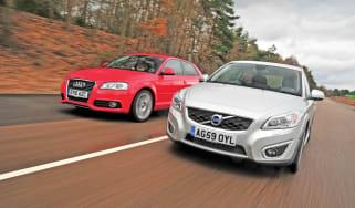 New C30 vs. Audi A3