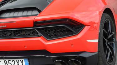 Lamborghini Huracan LP580-2 - rear detail