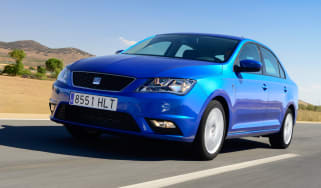 SEAT Toledo front action