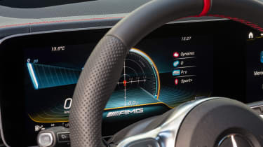 Mercedes-AMG GLE 53 - steering wheel