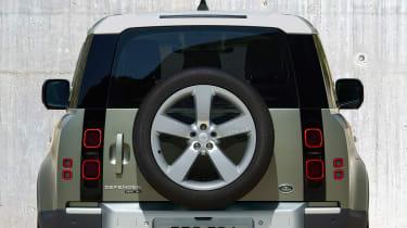 2019 Land Rover Defender spare wheel