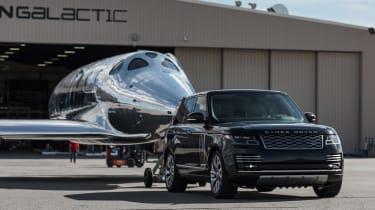 Land Rover Virgin Galactic - towing