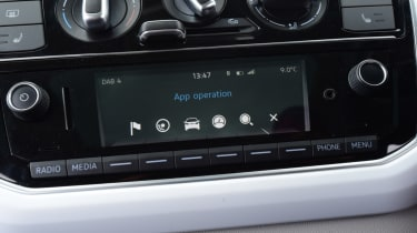 Volkswagen up! - long termer second report dials
