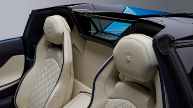 Lamborghini Aventador S Roadster - headrests
