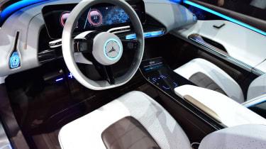 Mercedes Generation EQ interior