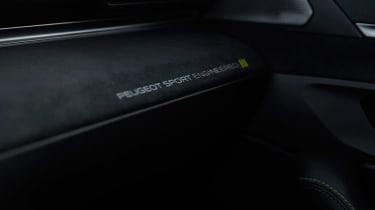 Peugeot 508 Sport Engineered concept - interior trim