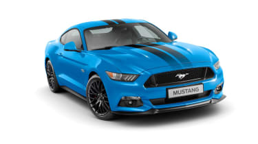 Ford Mustang Blue Editio