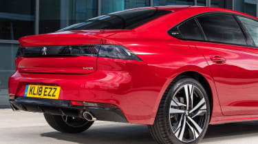 New Peugeot 508 GT 1.6 turbo tail lights