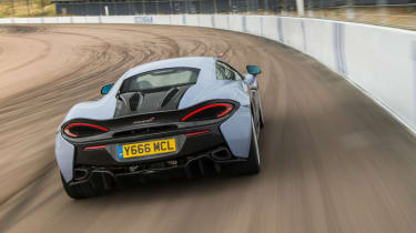 McLaren 570S Track Pack - rear action