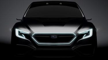 Subaru Viziv Performance teaser front