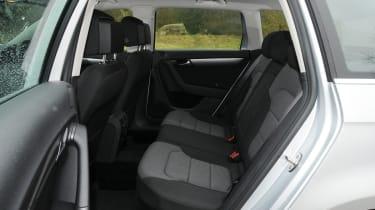 Volkswagen Passat Estate rear seats