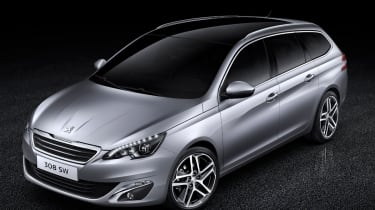 Peugeot 308 SW front static