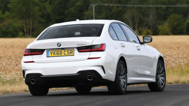 BMW 3 Series - rear action