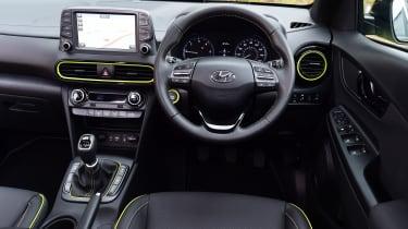 Hyundai Kona Diesel - dash