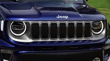 Jeep Renegade - grille