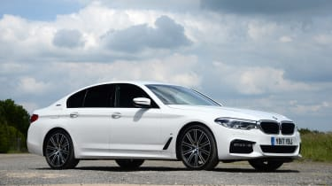 BMW 530e - front static