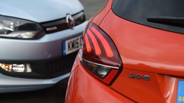 Volkswagen Polo vs Peugeot 208 - head-to-head