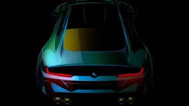 BMW M8 Gran Coupe - teaser
