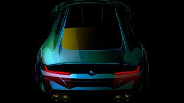 BMW M8 Gran Coupe - teaser