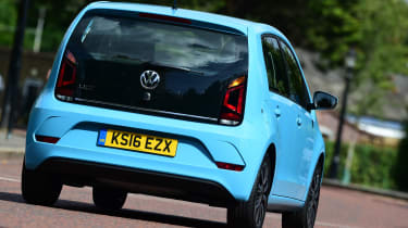 Volkswagen High up! 2016 - rear tracking