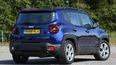 Jeep Renegade - static rear