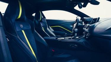 Aston Martin Vantage AMR - interior