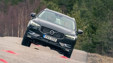 Volvo XC60 ride review - full front