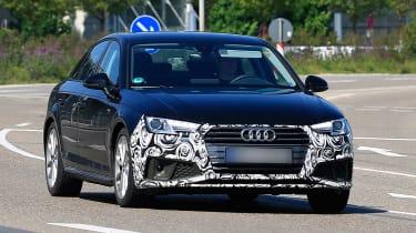 Audi A4 facelift - full front