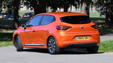Renault Clio Long termer - rear static