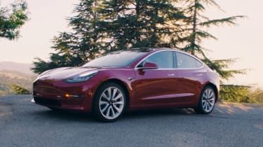 Tesla Model 3 front static
