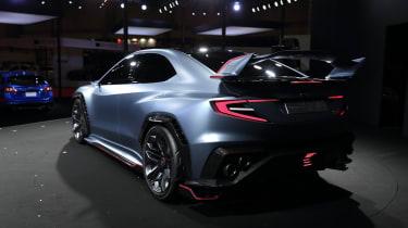 Subaru Viziv Performance STI concept rear