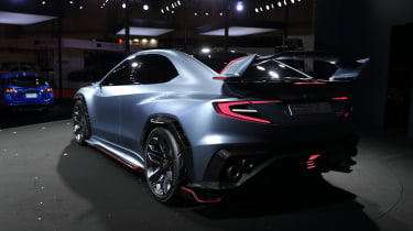 Subaru Viziv Performance STI concept rear