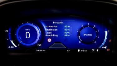 Ford Puma - dials