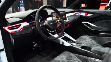 Skoda Vision RS - Paris dash