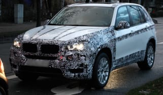 New BMW X5 front