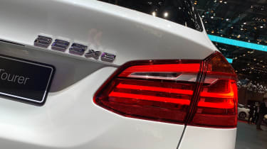 BMW 225xe - Geneva rear badge