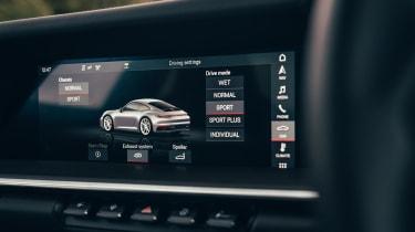 Porsche 911 Carrera S - driving options
