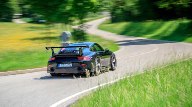 Porsche GT2 RS prototype - rear action
