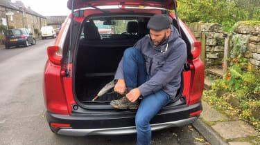 Honda CR-V: long-term test - putting shoes on