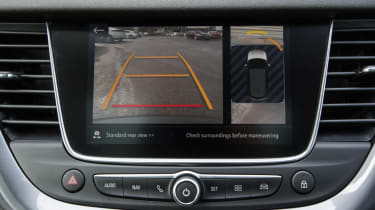 Ultimate trim infotainment screen