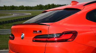 BMW X4 M Competition - rear