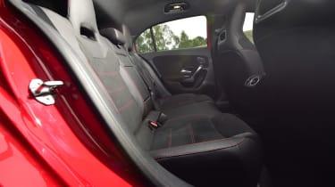 Mercedes A-Class - rear space