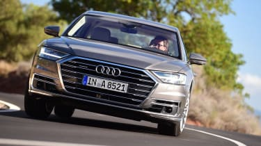New Audi A8 2017 - front
