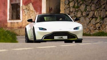 Aston Martin Vantage - front cornering