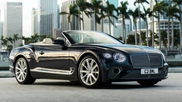 Bentley Continental GT V8 - convertible front 3/4 static