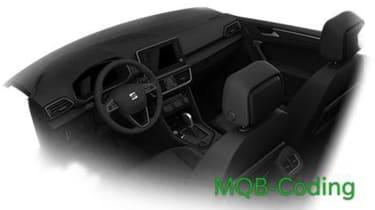 SEAT Tarraco SUV leak - cabin