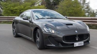 Maserati GranTurismo MC Stradale front cornering
